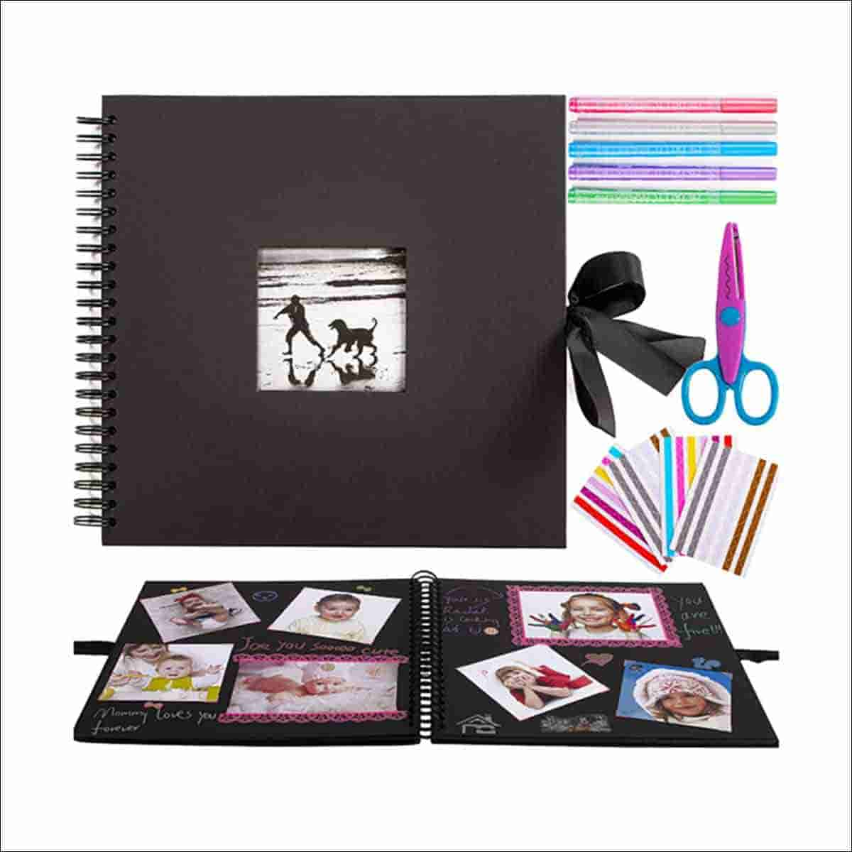 album de fotos scrapbook