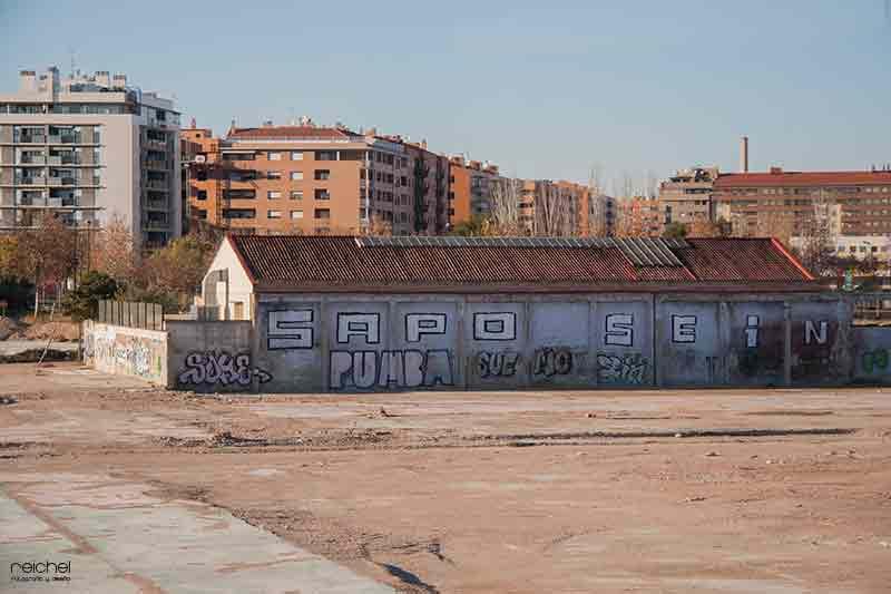 sitios abandonados en zaragoza