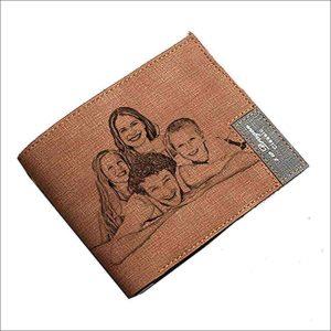 cartera de cuero personalizada