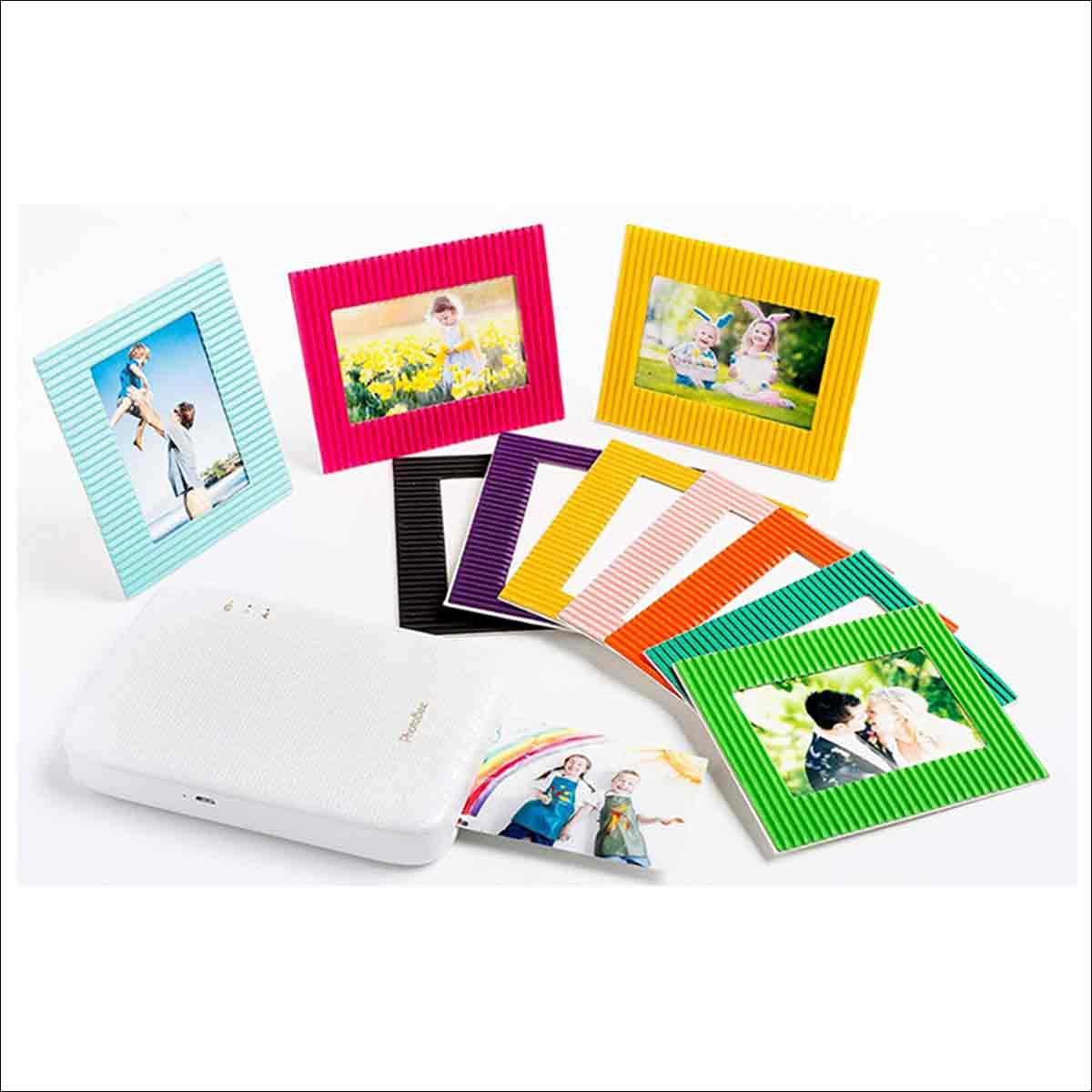 cartulina para fotos de varios colores