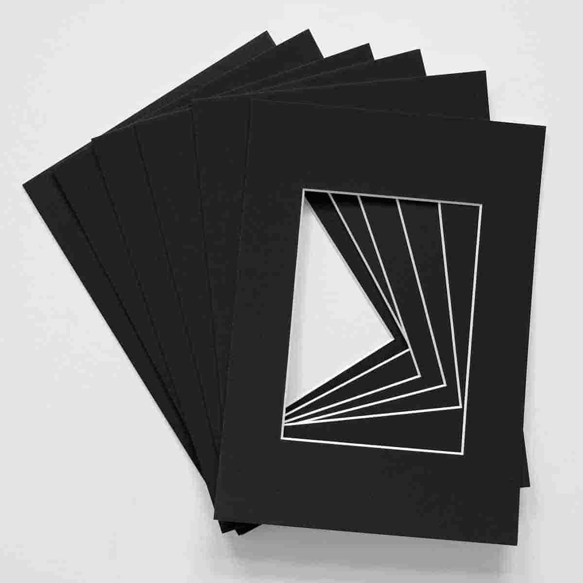 carutilas para fotos negras