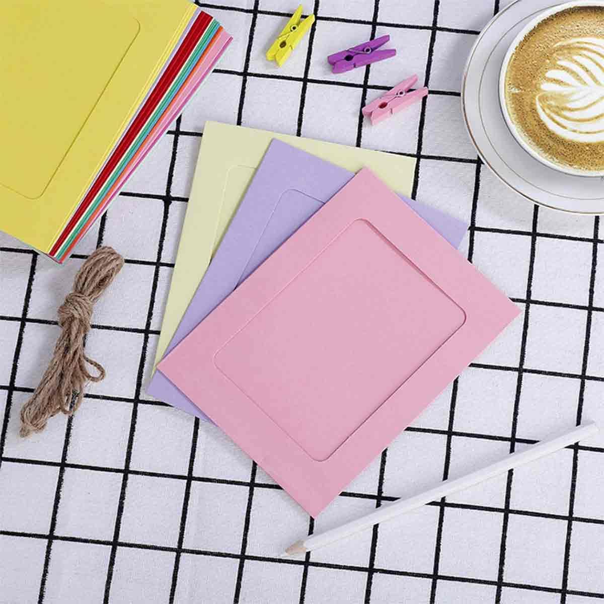 papel de bricolaje de colores
