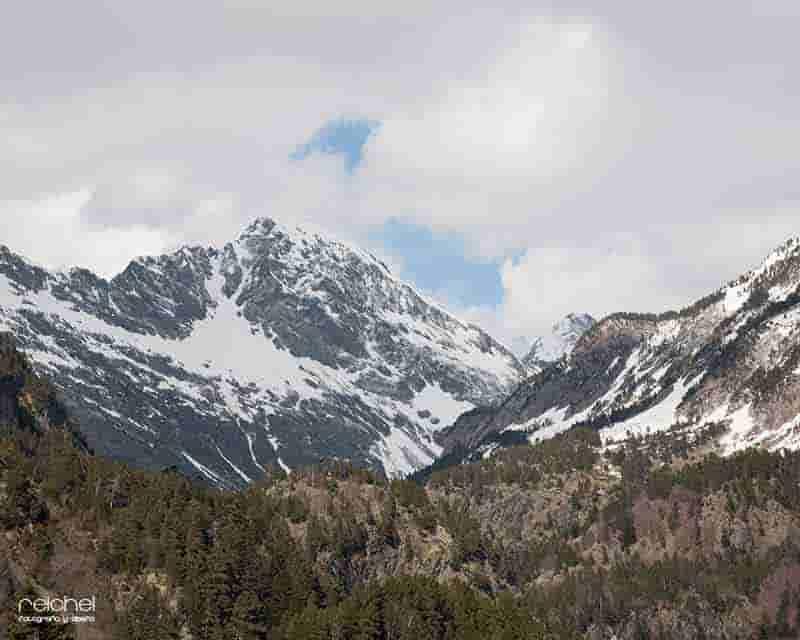 paisajes nevados para pintar