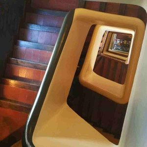 foto cenitales de escaleras