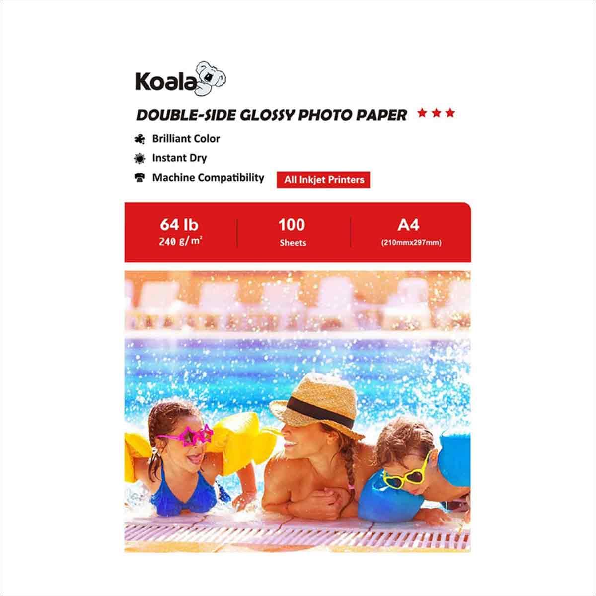 papel fotografico para impresoras