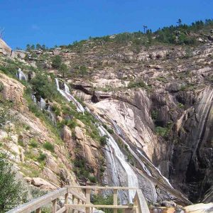 cascada de ezaro galicia