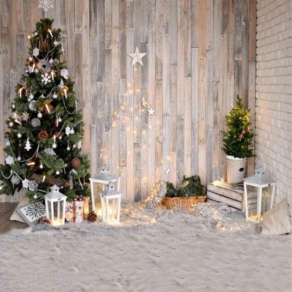 fondo de vinilo navidad