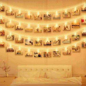 fotoclip con luces