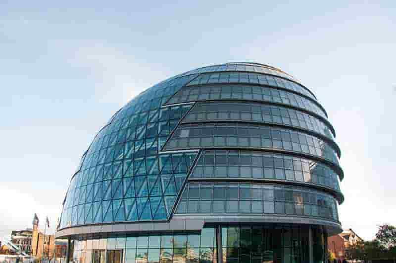 forma geometrica en los edificios