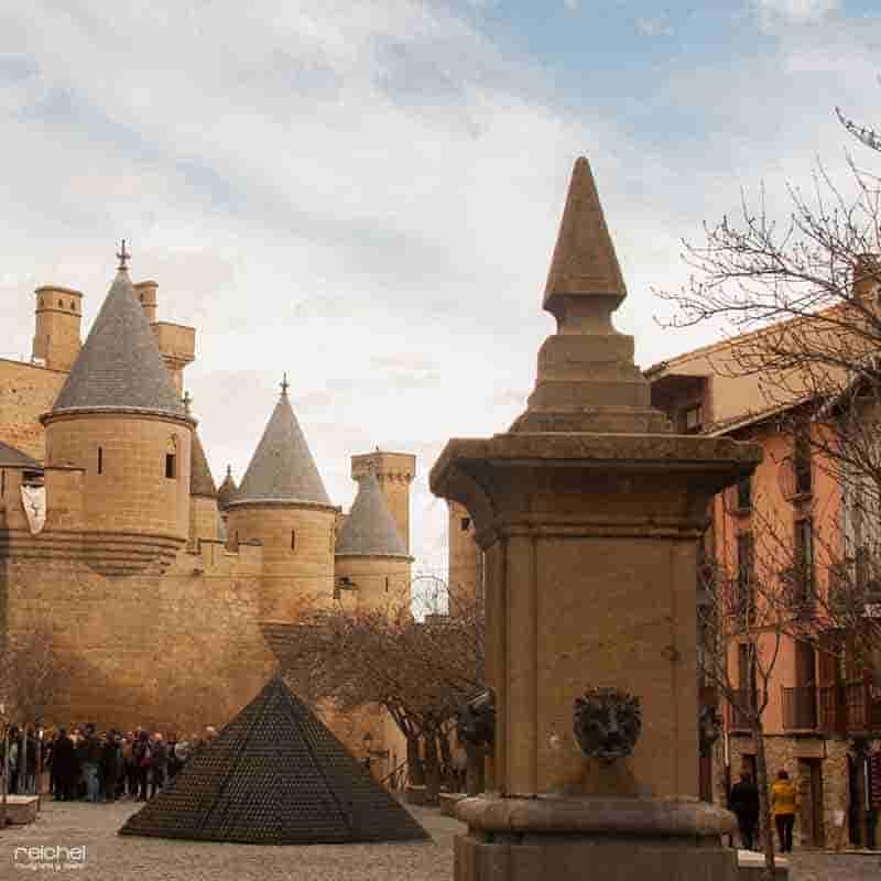 galerias medievales olite