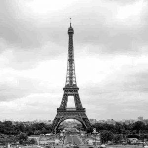 monumentos emblematicos en blanco y negr
