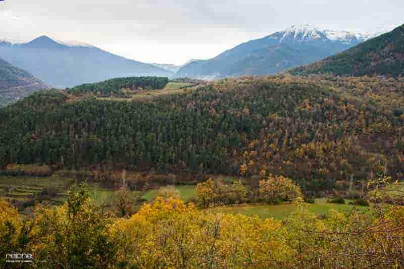 otoño en las montañas
