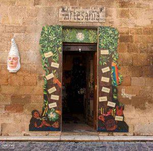 tienda de artesania olite