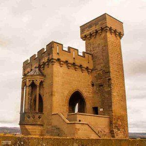 torre de los cuatro vientos olite