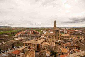 vistas panoramicas de la-ciudad desde el castiillo