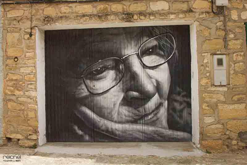 arte urbano en fuendetodos