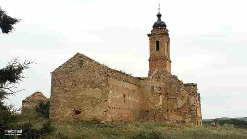 convento abandonado en fabara