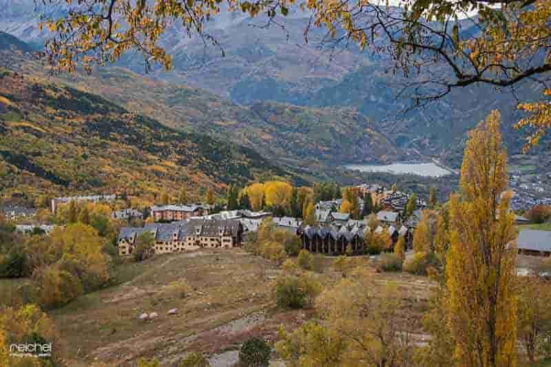 valle de benasque en otoño