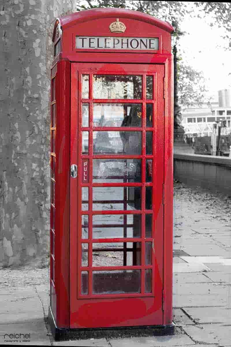cabinas de telefonos de londres