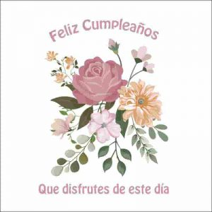 flores para felicitar cumpleaños