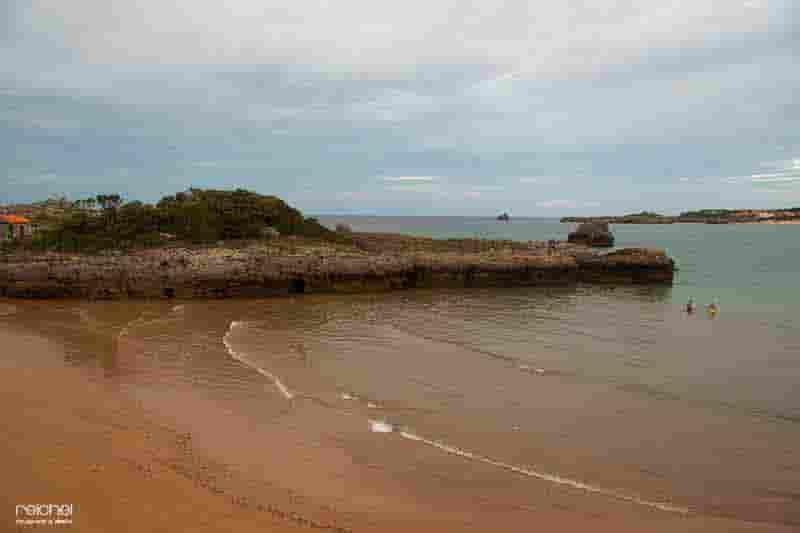 playa de isla cantabria